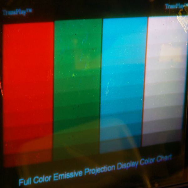 Full Color RGB Emissive Screen